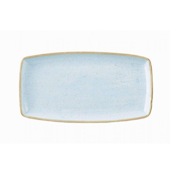 Stonecast Duck Egg Blue Oblong Plate