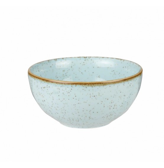Stonecast Duck Egg Blue Soup Bowl