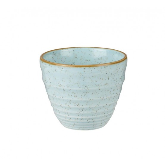 Stonecast Duck Egg Blue Ripple Chip Mug