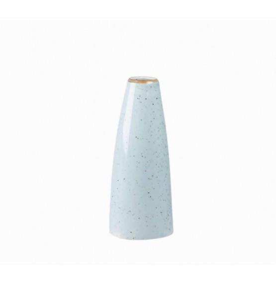 Stonecast Duck Egg Blue Bud Vase
