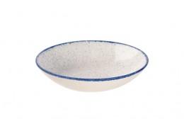 Stonecast Hints Indigo Blue Coupe Bowl