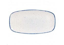 Stonecast Hints Indigo Blue Chefs' Oblong Platter