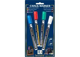 Liquid Chalk Markers 4 Colour Pack