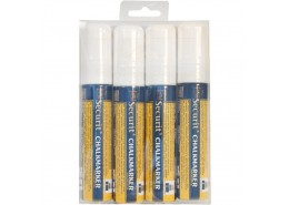 Liquid Chalk Markers 4 Pack White