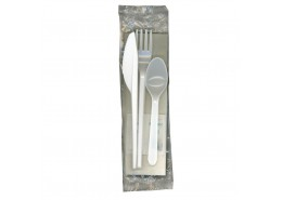 Standard Cutlery Meal Pack White