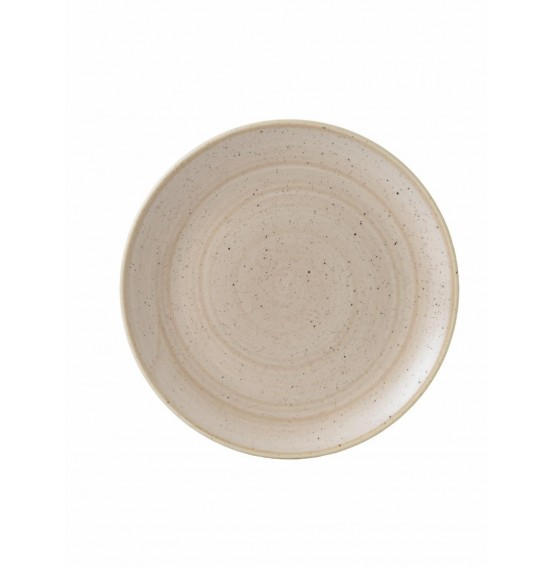 Stonecast Nutmeg Coupe Plate