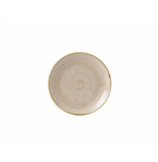 Stonecast Nutmeg Coupe Plate