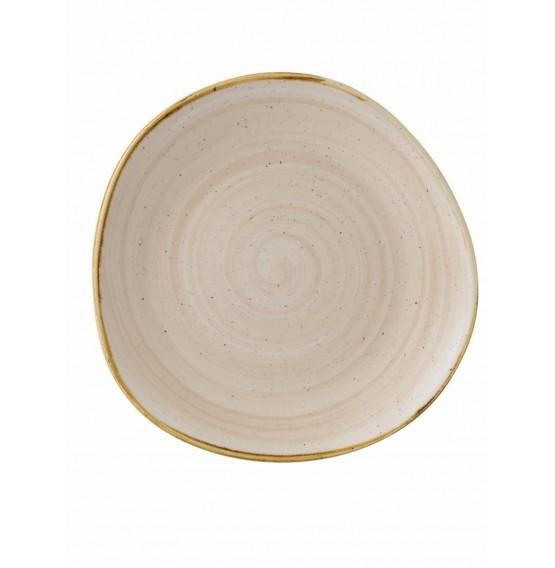 Stonecast Nutmeg Organic Round Plate