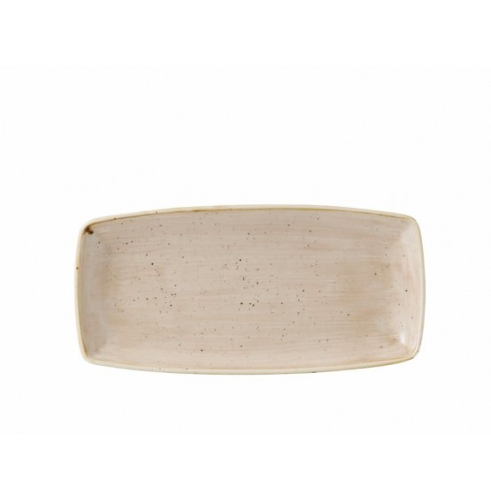 Stonecast Nutmeg Oblong Plate