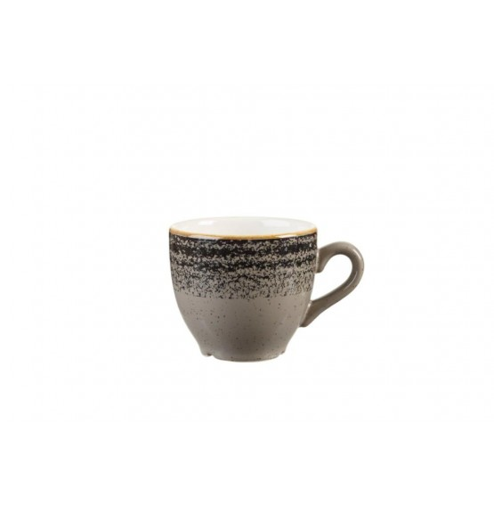 Homespun Charcoal Black Espresso Cup