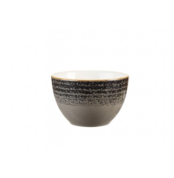Homespun Charcoal Black Sugar Bowl