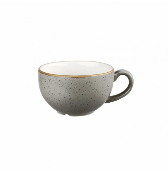 Stonecast Peppercorn Grey Cappuccino Cup