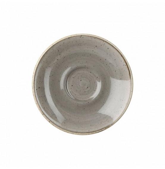 Stonecast Peppercorn Grey Saucer