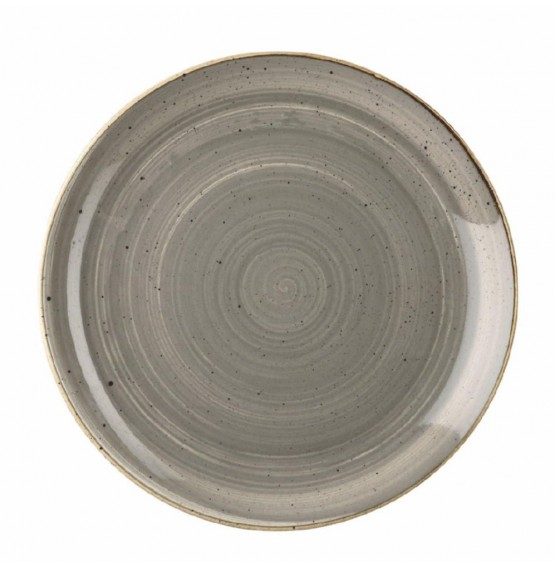 Stonecast Peppercorn Grey Coupe Plate