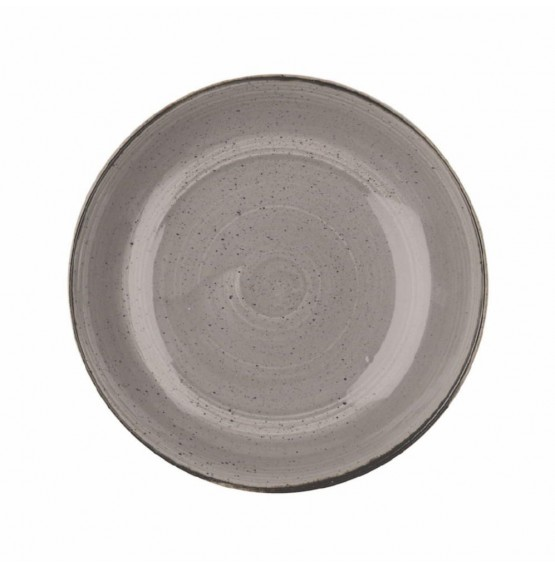 Stonecast Peppercorn Grey Large Coupe Bowl