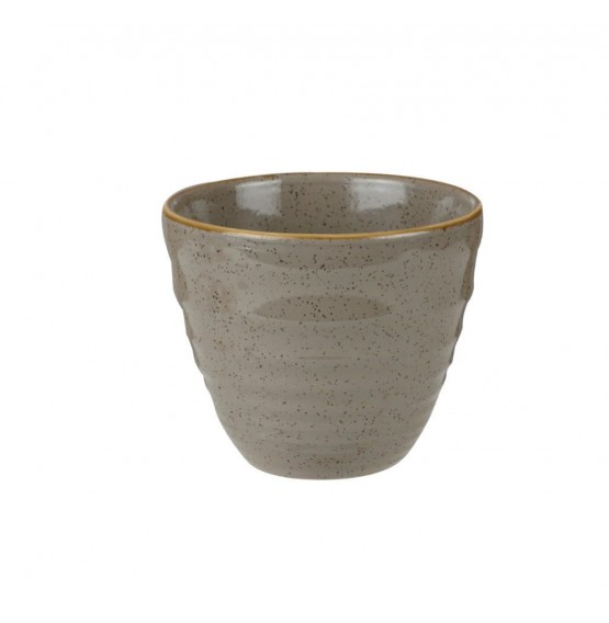 Stonecast Peppercorn Grey Ripple Chip Mug
