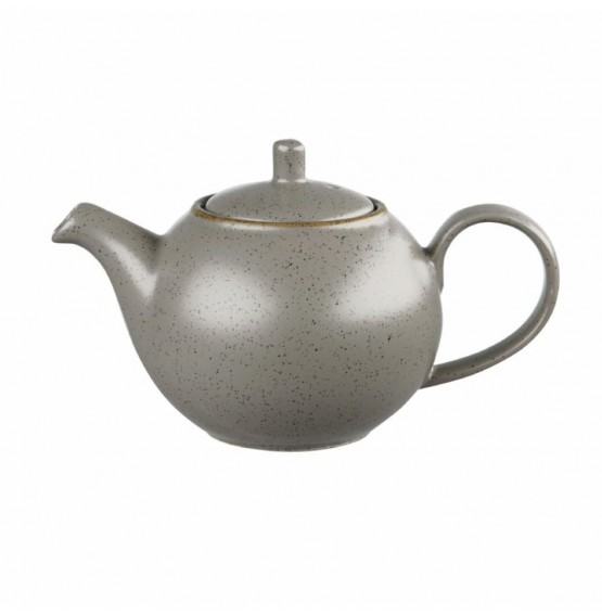 Stonecast Peppercorn Grey Beverage Pot