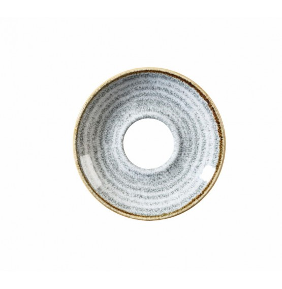 Homespun Stone Grey Saucer