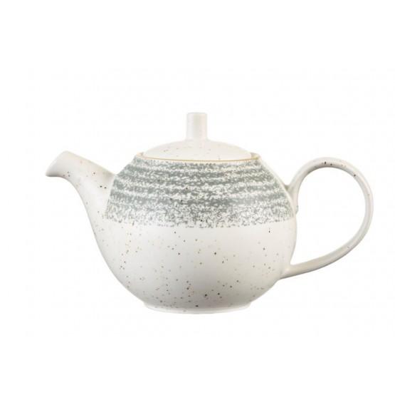Homespun Stone Grey Beverage Pot