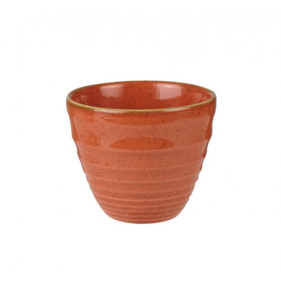 Stonecast Spiced Orange Ripple Chip Mug