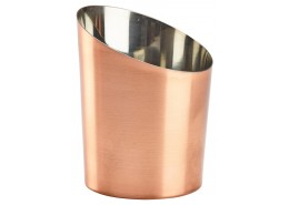 Copper Angled Cones Plain