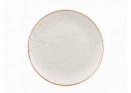 Stonecast Barley White Coupe Plate