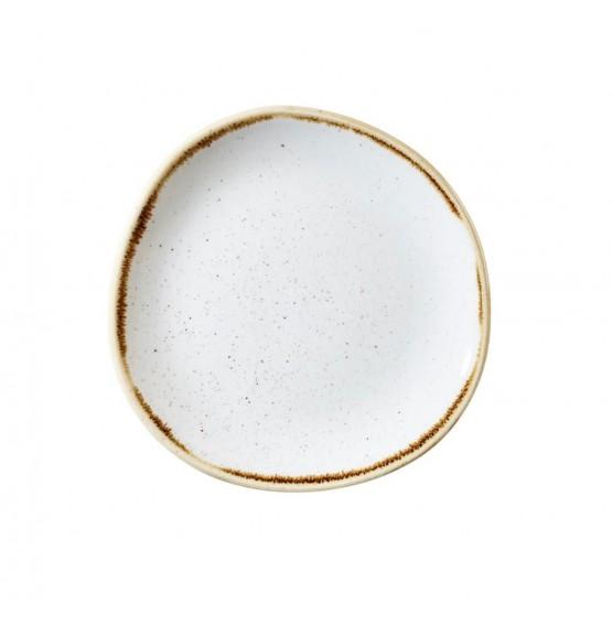 Stonecast Barley White Organic Round Plate