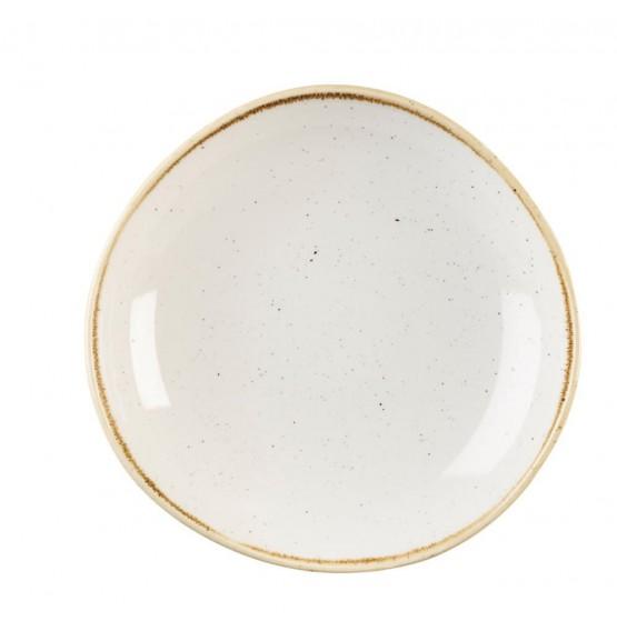 Stonecast Barley White Organic Round Bowl