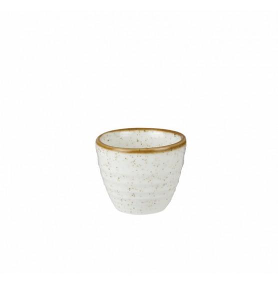 Stonecast Barley White Ripple Dip Pot