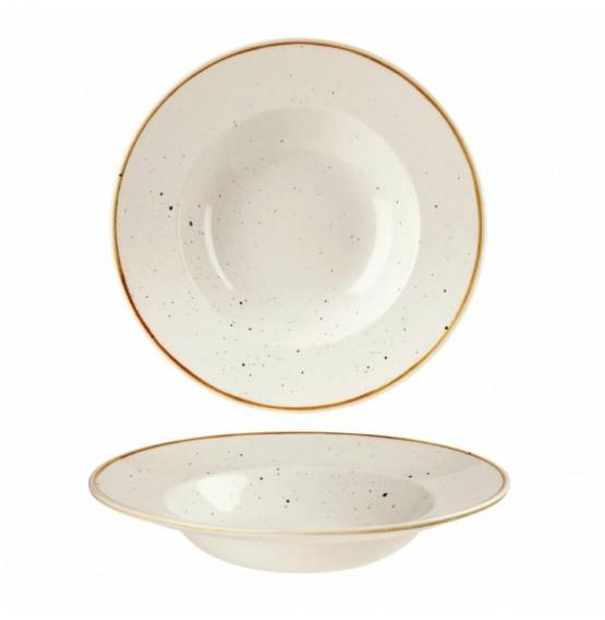 Stonecast Barley White Wide Rim Bowl