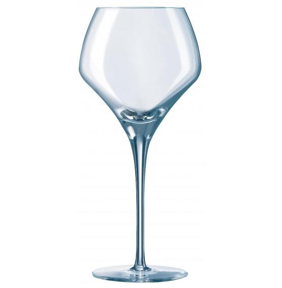 Open Up Round Wine Glass