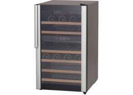 32 Bottle Wine Cooler Black Finish