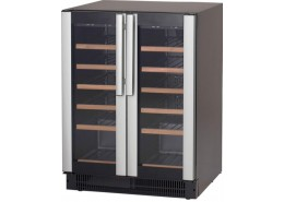 38 Bottle Wine Cooler Black Finish