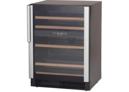 45 Bottle Wine Cooler Black Finish