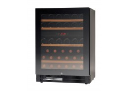 45 Bottle Compact Wine Cabinet Black