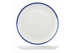 Retro Blue Coupe Plate