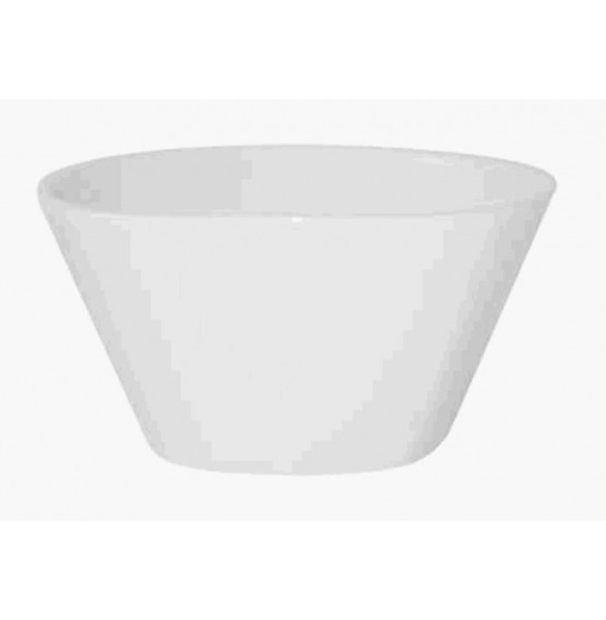 Bit On The Side Square White Bowl