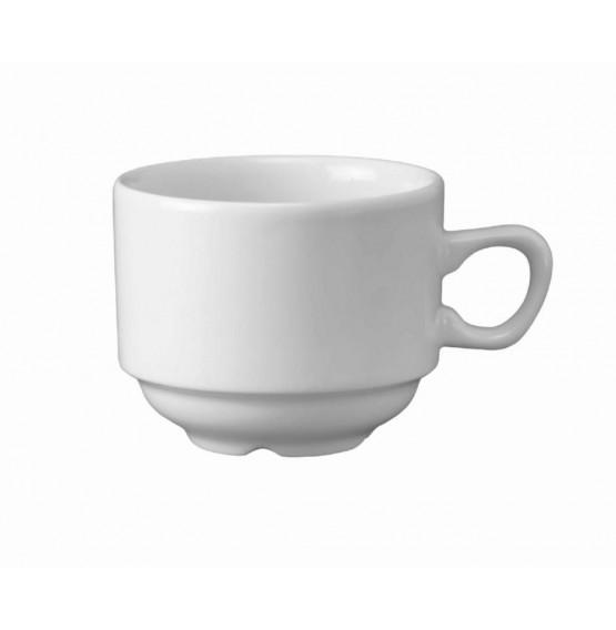 White Holloware Nova Tea Cup