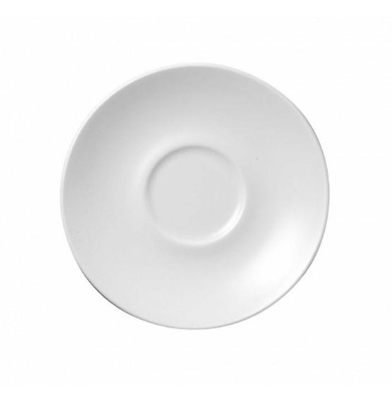 Monochrome White Saucer