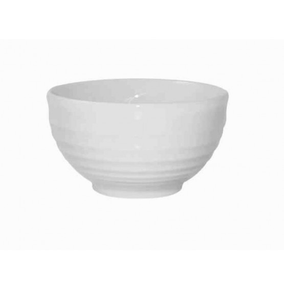 Bit On The Side Ripple White Bowl
