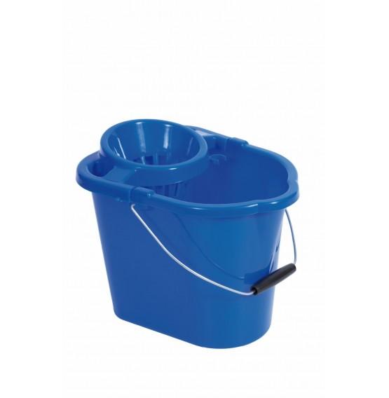 Blue Mop Bucket & Squeezer