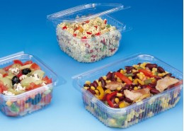 Optipack Hinged Salad Box