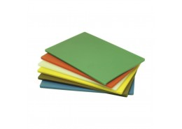 Poly Chopping Board Yellow