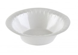 Deluxe White Foam Bowl