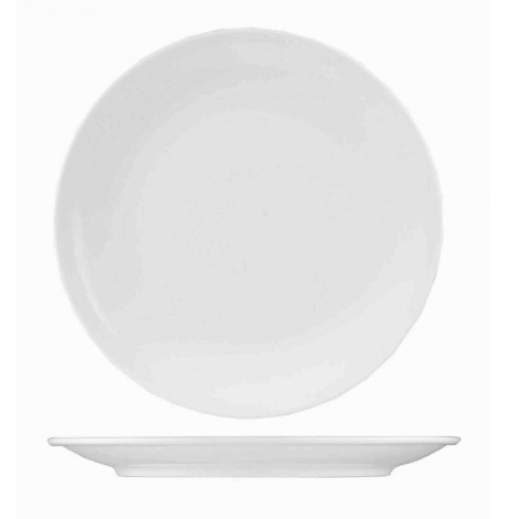 Menu Porcelain Coupe Plate