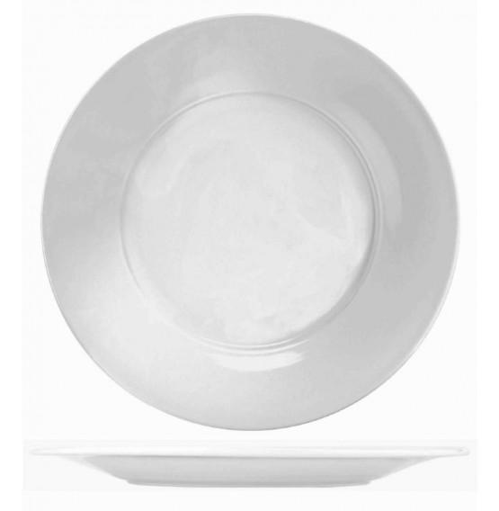 Menu Porcelain Broad Rim Dinner Plate
