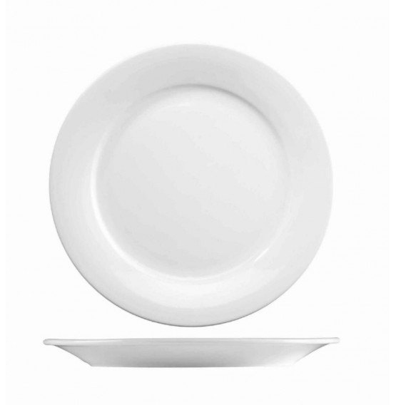 Menu Porcelain Mid Rim Plate