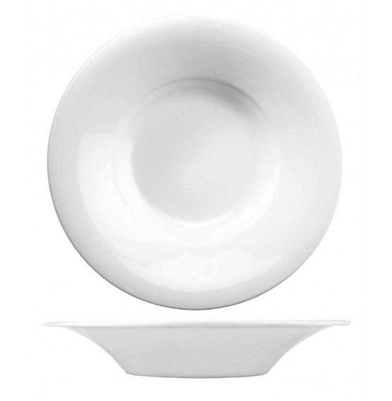 Menu Porcelain Broad Rim Pasta Bowl