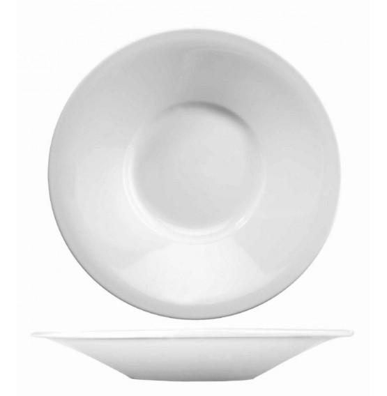 Menu Porcelain Broad Rim Dessert Plate