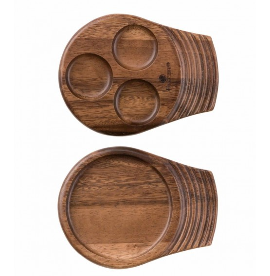 Small Single Handled Wooden Tray